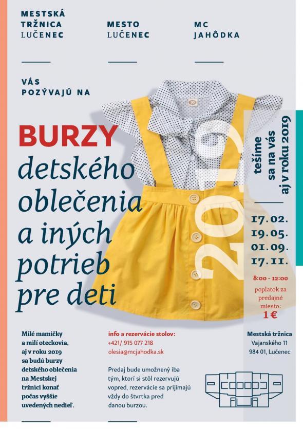 fffb6764cc08 Burza detského oblečenia a iných potrieb pre deti