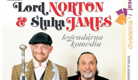 LORD NORTON a sluha James - legendárna komédia